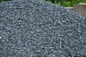 Black Granite Decorative Rock